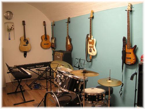 Rock-Fort ruimte muzieklessen